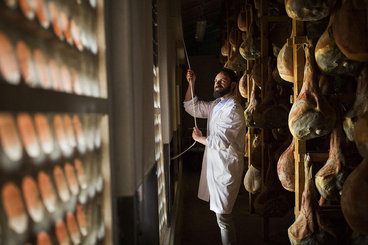 San Daniele Cured Ham Italian Alps Alpine Food To Taste
