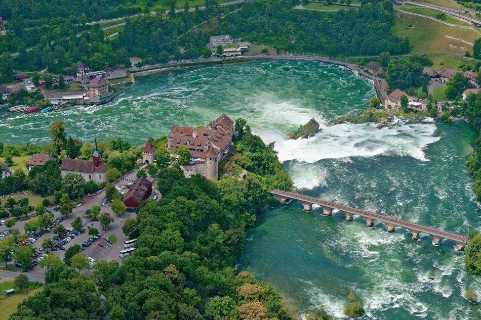 THE RHEINFALL