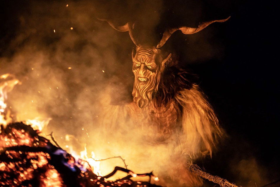SAINT NICOLAS AND THE KRAMPUS